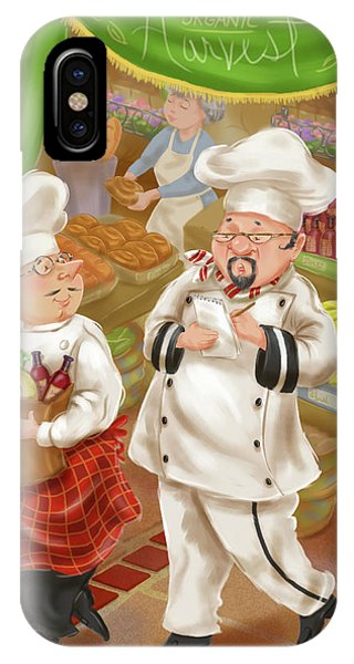 Chefs Go To Market IIi IPhone Case