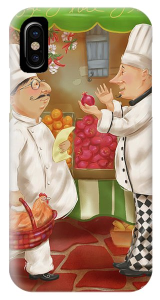 Chefs Go To Market Iv IPhone Case