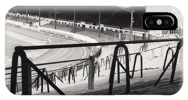 Stamford iPhone Case - Chelsea - Stamford Bridge - East Stand 4 - August 1969 by Legendary Football Grounds