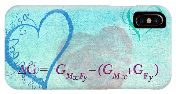 Chemical Thermodynamic Equation For Love IPhone Case