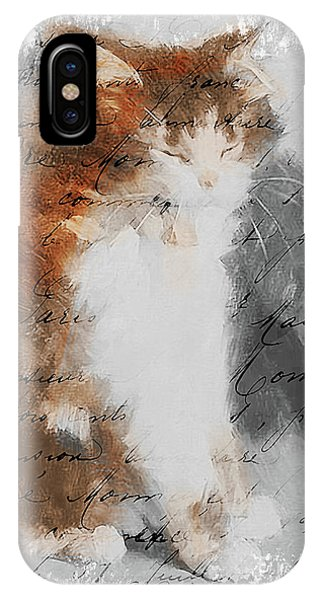 Cher Chat ... IPhone Case
