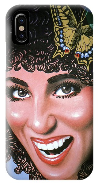 Sonny And Cher iPhone Case - Cher by Lance Miyamoto