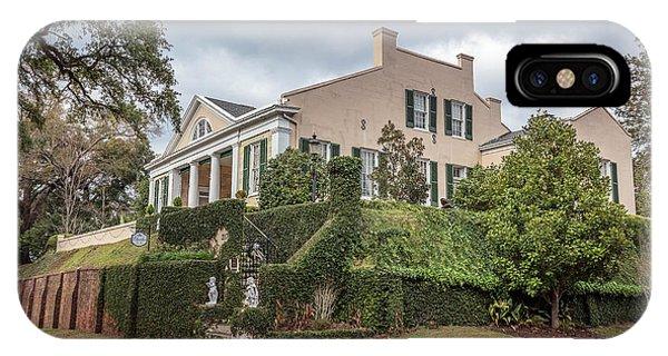 Cherokee House Natchez Ms IPhone Case