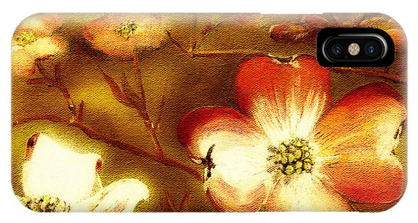 Cherokee Rose Dogwood - Glow IPhone Case