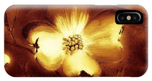 Cherokee Rose Dogwood - Single Glow IPhone Case