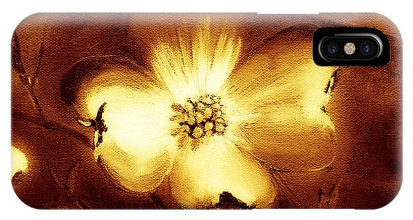 Cherokee Rose Dogwood - Single Glow IPhone Case