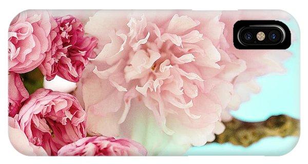 Kwanzan Cherry IPhone Case