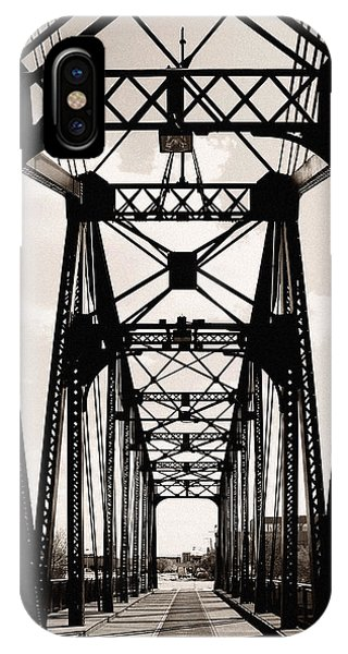 Cherry Avenue Bridge IPhone Case