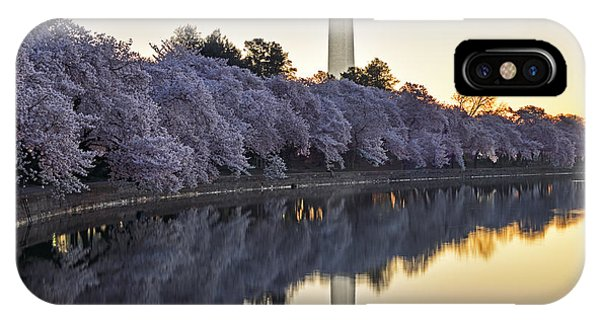 Cherry Blossom Festival - Washington Dc IPhone Case