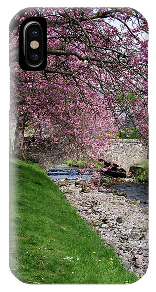 IPhone Case featuring the photograph Cherry Blossom In Central Scotland by Jeremy Lavender Photography