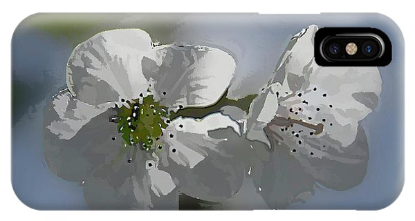 Cherry Blossoms Phone Case by Marti Buckely