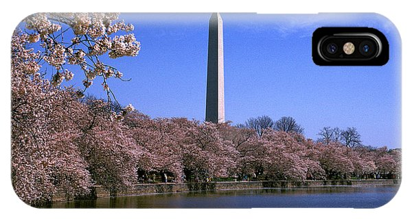 Cherry Blossoms On The Tidal Basin 15j IPhone Case