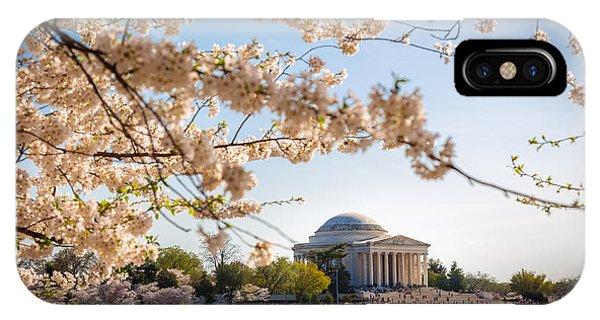 Cherry Blossoms Phone Case by Robert Davis
