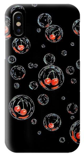 Cherry-bubs IPhone Case