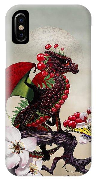 Cherry Dragon IPhone Case
