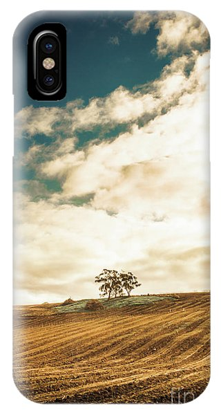 Rural iPhone Case - Cherry Farm In The Sewing by Jorgo Photography - Wall Art Gallery