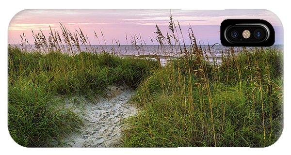 Cherry Grove Beach Scene IPhone Case