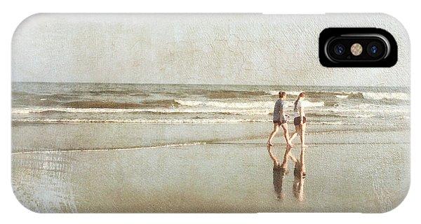 Cherry Grove Beach Walk IPhone Case