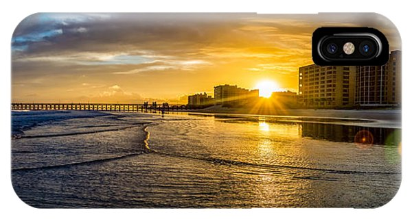 Cherry Grove Sunset IPhone Case