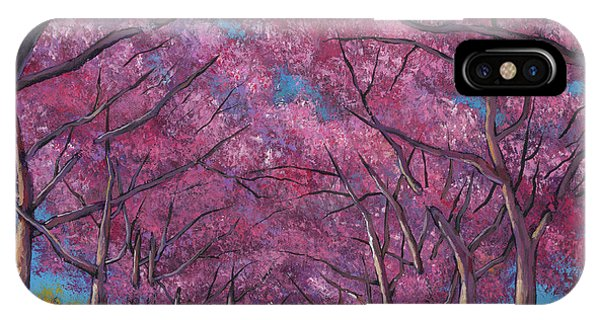 Orchard iPhone Case - Cherry Lane by Johnathan Harris