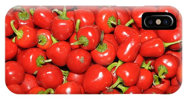 Cherry Peppers IPhone Case
