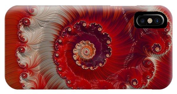 Cherry Swirl IPhone Case