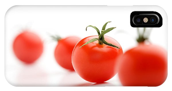 Tomato iPhone Case - Cherry Tomatoes by Kati Finell