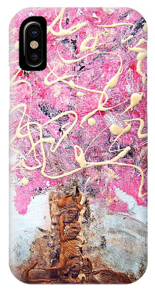 Cherry Tree By Colleen Ranney IPhone Case