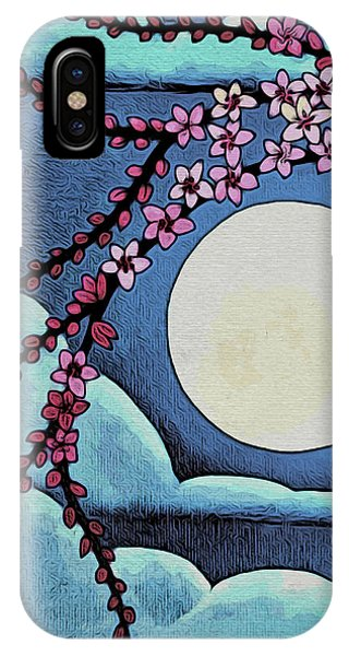 Cherry Whip Moon IPhone Case