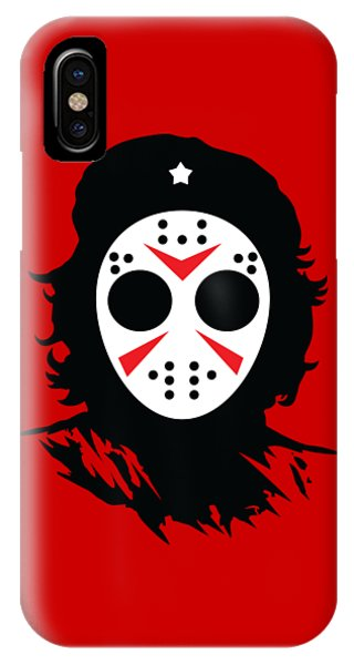 IPhone Case featuring the digital art Che's Halloween by Christopher Meade