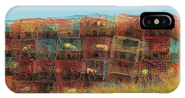 Chesapeake Bay Crabbing IPhone Case