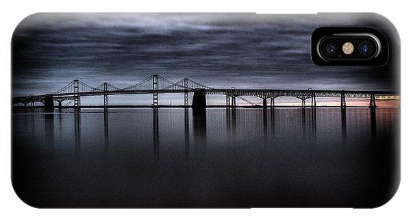 Chesapeake Bay iPhone X Case - Chesapeake Bay Dream by Robert Fawcett