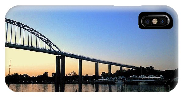IPhone Case featuring the photograph Chesapeake City by Melinda Blackman