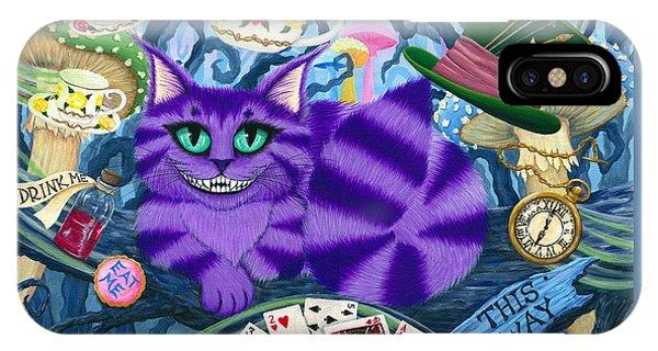 Cheshire Cat - Alice In Wonderland IPhone Case