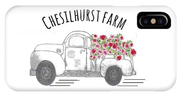 Chesilhurst Farm IPhone Case