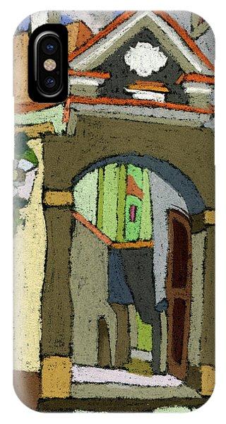 iPhone Case - Chesky Krumlov Old Street Latran  by Yuriy Shevchuk