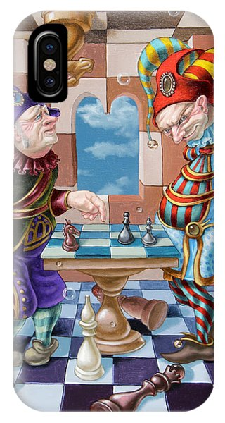 Chess Players IPhone Case