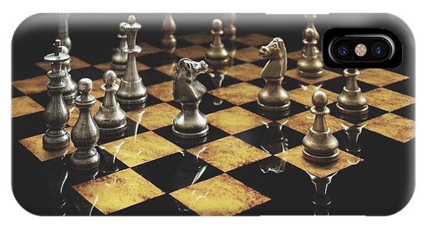Chess The Art Game IPhone Case