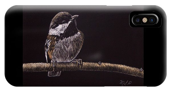 Chestnut Backed Chickadee IPhone Case