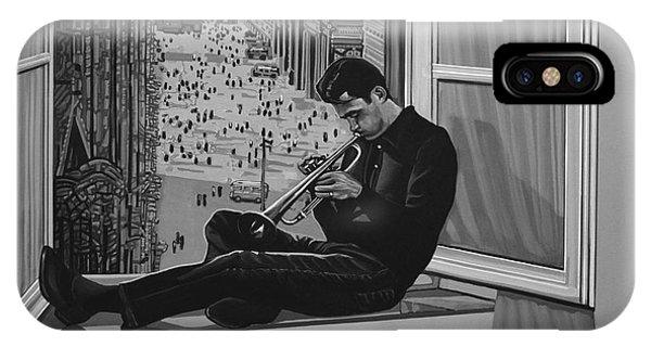 Trumpet iPhone Case - Chet Baker by Paul Meijering