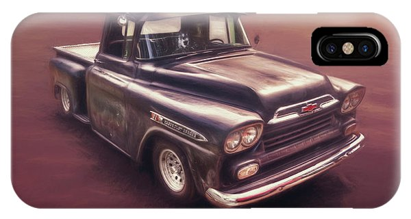 Truck iPhone Case - Chevrolet Apache Pickup by Scott Norris