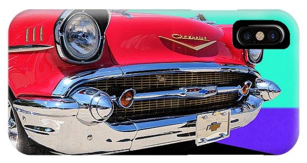Chevrolet Bel Air Color Pop IPhone Case