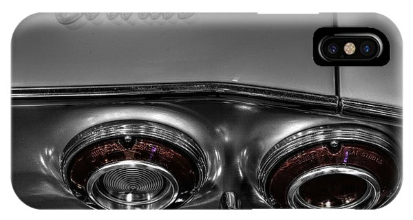 Corvair iPhone Case - Chevrolet Corvair  V2 by John Straton