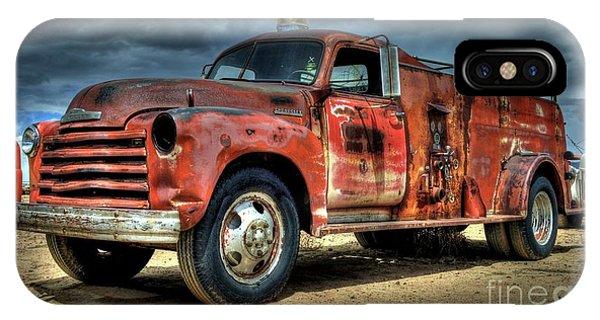 1948 Chevrolet Fire Truck IPhone Case