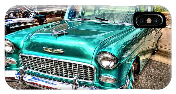 Chevy Cruising 55 IPhone Case