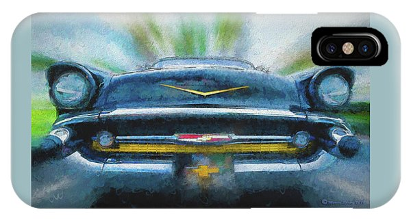 Antiquated iPhone Case - Chevy Power by Marvin Spates
