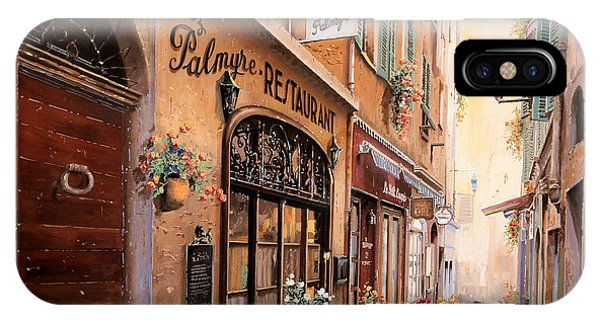 Nice iPhone Case - Chez Palmyre  by Guido Borelli