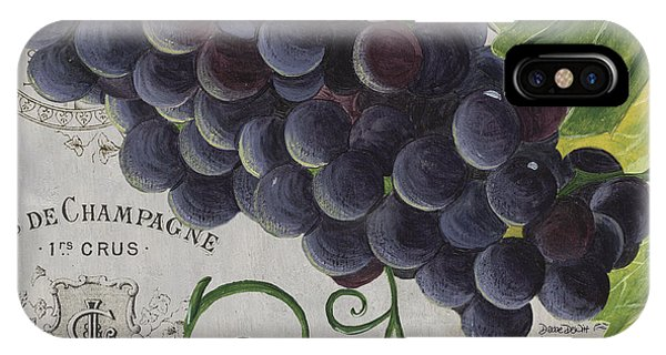 Vins De Champagne 2 IPhone Case