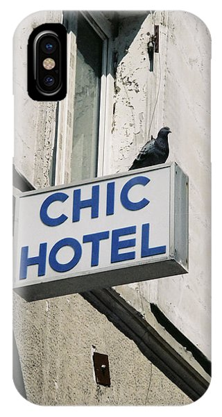Chic Hotel IPhone Case