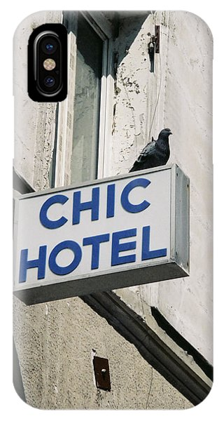 Chic Hotel IPhone Case